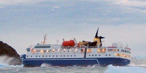 Antarktis-Urlauber 30 Stunden im Eis gefangen