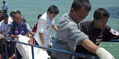 Vermisstensuche im Meer vor Thailand