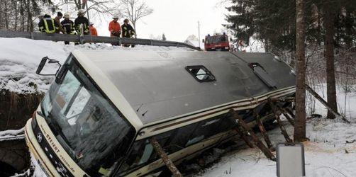 26 Verletzte bei Schulbus-Unglück im Schwarzwald