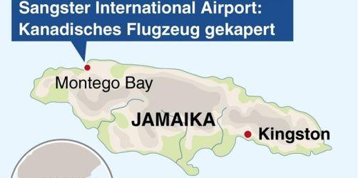 Flugzeug-Kidnapper auf Jamaika überwältigt