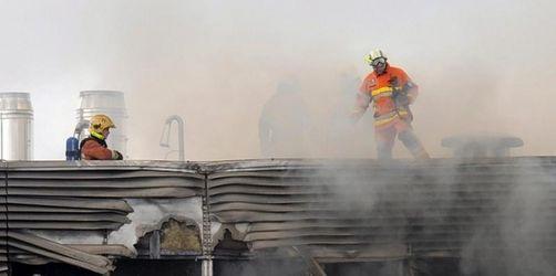 EU-Kommission bleibt nach Brand noch geschlossen