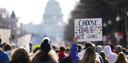 Streiks an US-High-Schools wegen Waffengewalt