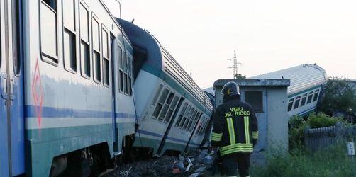 Zwei Tote und mehrere Verletzte bei Zugunglück in Italien