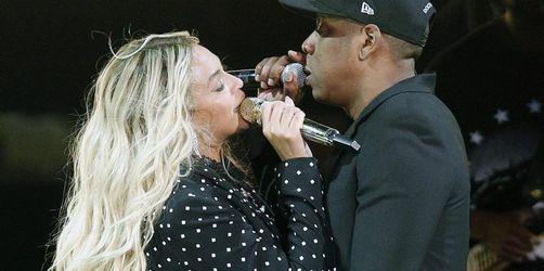 Jay-Z und Beyoncé drehen Video im Louvre