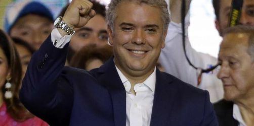 Konservativer Kandidat Duque gewinnt Wahl in Kolumbien