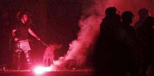 Verletzte und Festnahmen nach Demonstrationen in Skopje