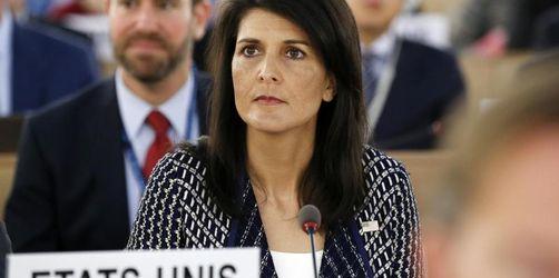 USA ziehen sich aus UN-Menschenrechtsrat zurück