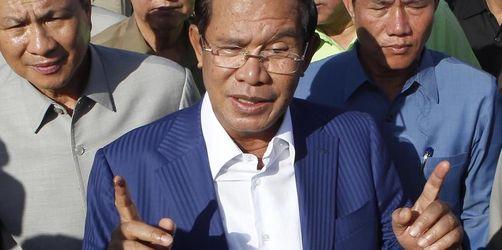 Hun Sen erklärt sich zum Wahlsieger in Kambodscha