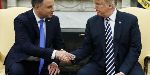 Trump und Duda üben scharfe Kritik an Nordstream 2