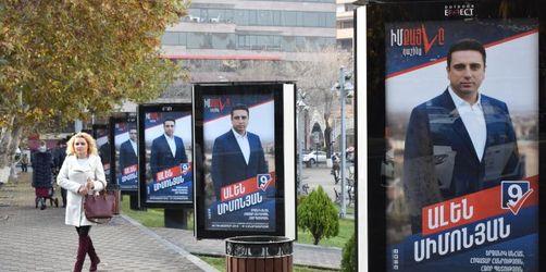 Armenien setzt auf seinen Hoffnungsträger Paschinjan