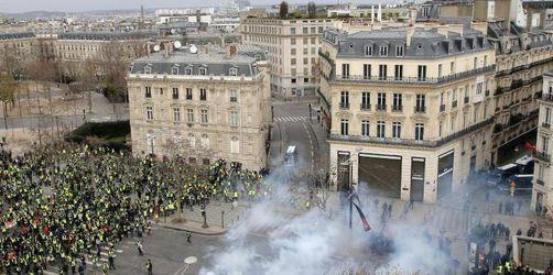 Macron und Regierung beraten über «Gelbwesten»-Krise