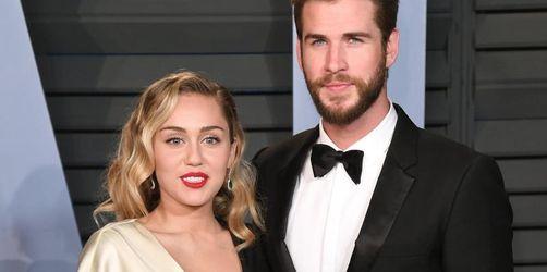 Miley Cyrus schwärmt von Liam Hemsworth