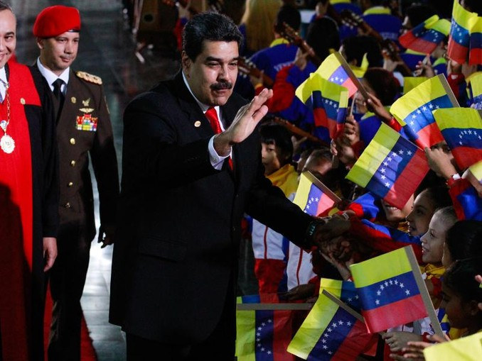 Nicolas Maduro: Zahlreiche Staaten erkennen das Ergebnis der letzten Wahl nicht an.