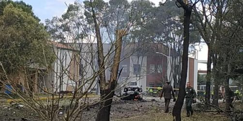 Tote bei Bombenanschlag auf Polizeischule in Kolumbien