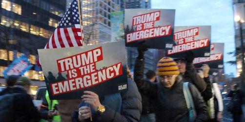 Großer Widerstand gegen Trumps Notstandserklärung