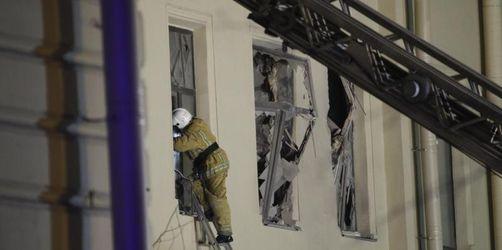 Uni-Stockwerke in St. Petersburg zusammengebrochen
