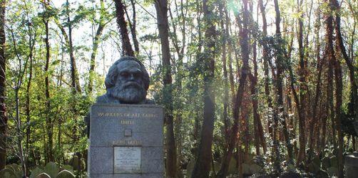 Grabstätte von Karl Marx in London erneut geschändet