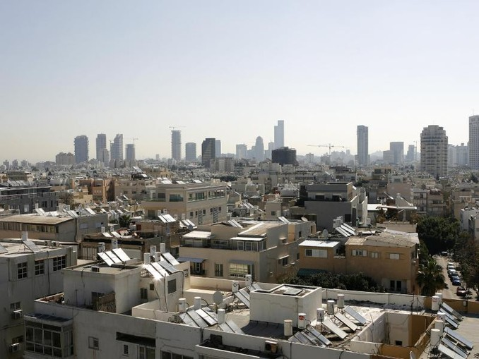 Blick über Tel Aviv. Im Großraum der israelischen Stadt haben die Alarmsirenen geheult. /Archiv