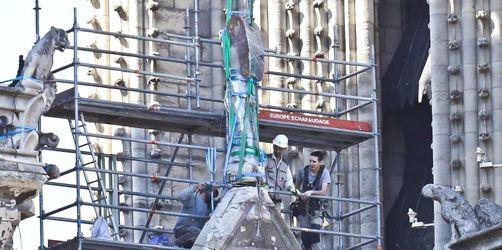 Großer Regenschirm für Notre-Dame