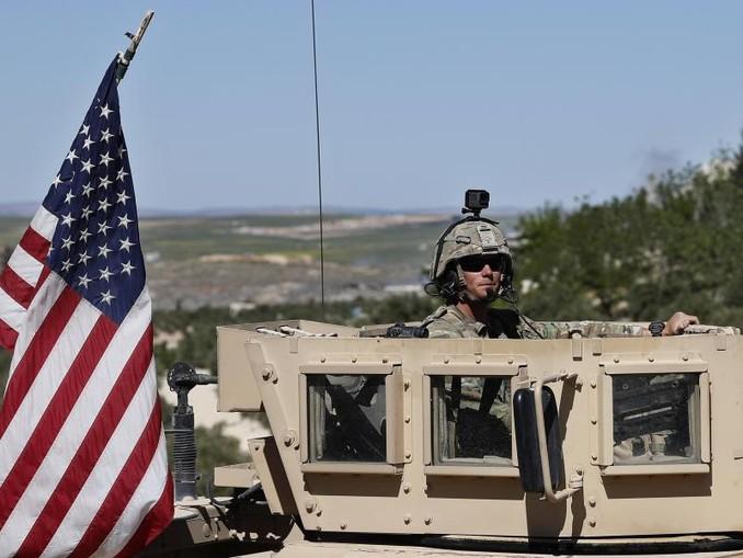 US-Truppen im syrischen Manbidsch. /AP