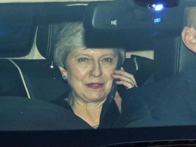 Premierministerin Theresa May ist mit ihrem mit Brüssel ausgehandelten Brexit-Deal bisher drei Mal im Unterhaus gescheitert. Foto. Aaron Chown/PA Wire