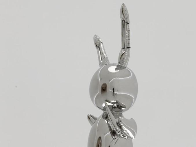 Teurer Hase:91 Millionen Dollar war einem Sammler die Skulptur «Rabbit» von Jeff Koons wert. /Christie's Images Ltd./AP
