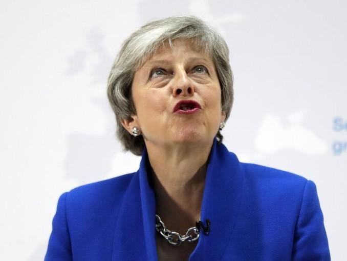 Premierministerin Theresa May war mit dem Brexit-Abkommen bereits drei Mal bei Abstimmungen im britischen Parlament gescheitert. /AP
