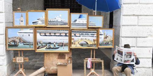 Banksy gibt in Venedig Rätsel auf