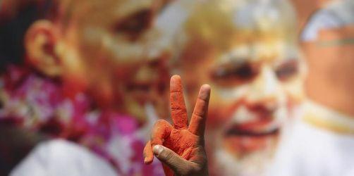 Regierungspartei gewinnt Parlamentswahl in Indien