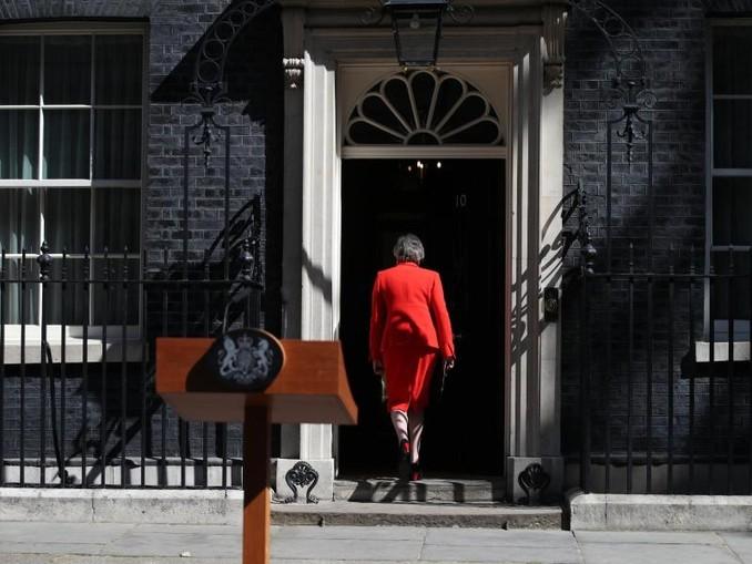 Theresa May will ihr Amt als Parteichefin am 7. Juni abgeben. /PA Wire
