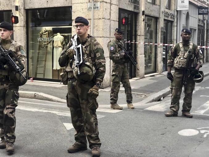 Die Explosion überschattet die Europawahl in Frankreich. /AP