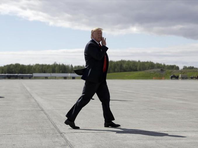Trump will deutlich härter gegen Einwanderer vorgehen, stößt dabei immer wieder auf juristische Hindernisse. /AP