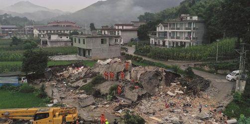 Tote und viele Verletzte bei Erdbeben in Chinas Südwesten