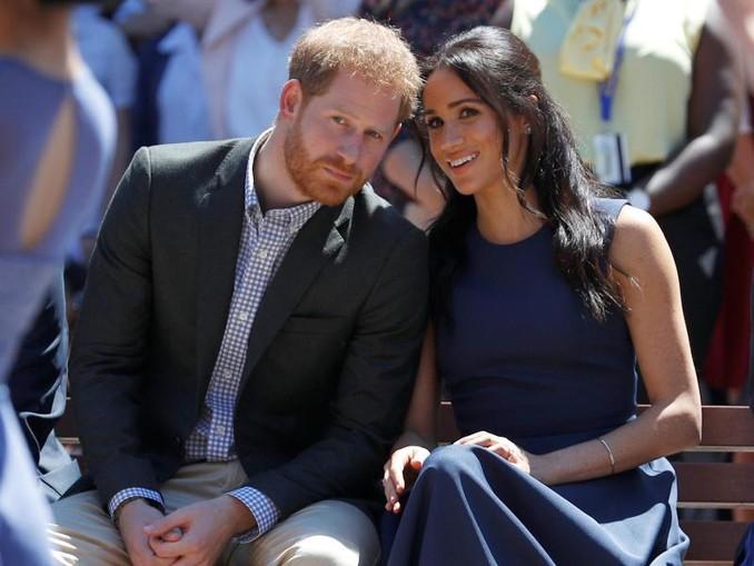 Prinz Harry von Großbritannien und seine Frau Meghan, Herzogin von Sussex, scheinen ihr eigenes Ding machen zu wollen. /Reuters/PA