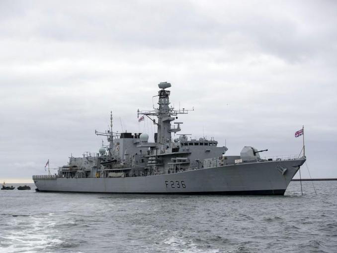 Die britische Fregatte HMS Montrose. /PA/Archiv