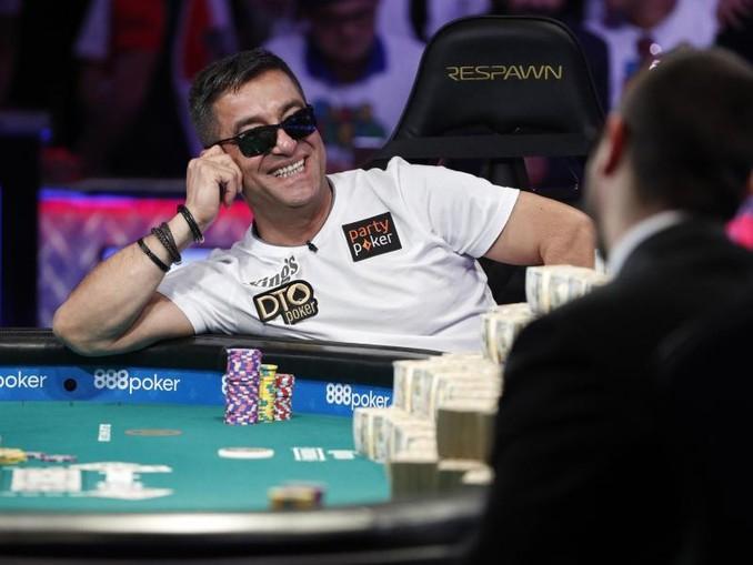 Pokerface: Hossein Ensan gewann ein Preisgeld von 10 Millionen Dollar.