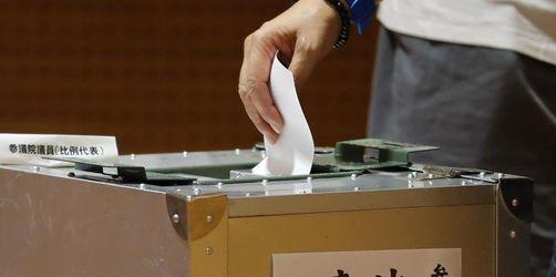 Wahl zum Oberhaus des japanischen Parlaments begonnen