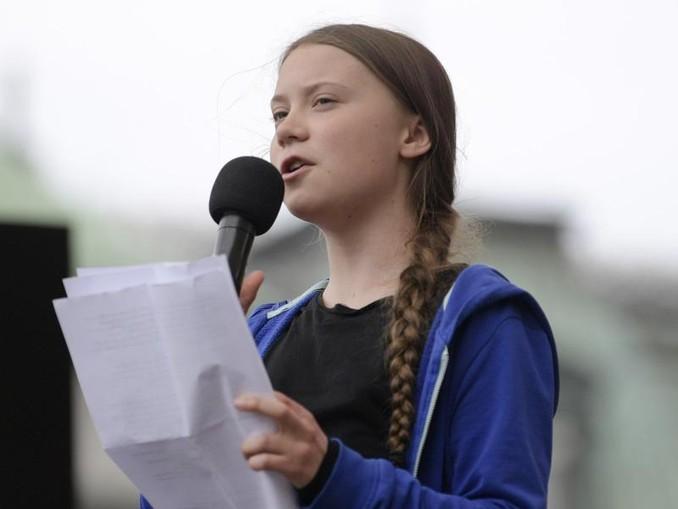 Greta Thunberg, Klimaaktivistin und Schülerin aus Schweden.  News Agency/AP/Archiv