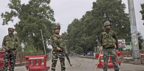 Indiens Regierung will Ausgangssperre in Kaschmir aufheben