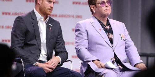 Kritik an Harry und Meghan - Elton John «tief erschüttert»