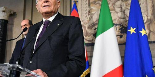 Italien: Mehr Zeit für Regierungssuche - Annäherung in Sicht