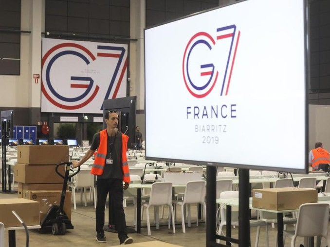 Der G7-Gipfel findet nun doch mit 30 Vertretern unabhängiger Organisationen (NGO) statt. Foto:Markus Schreiber/AP