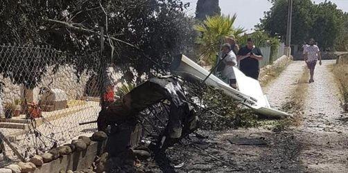 Horror-Crash von Flugzeug und Hubschrauber über Mallorca