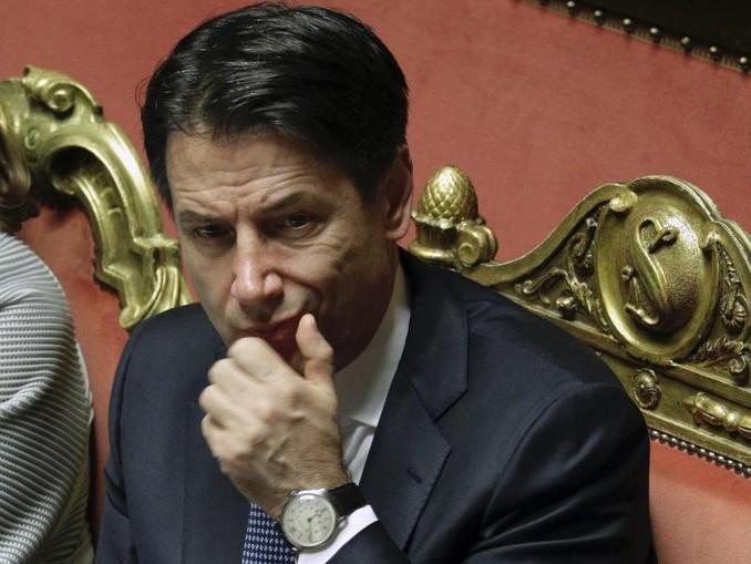 Premier Giuseppe Conte forderte eine Änderung der sogenannten Dublin-Regeln. /AP