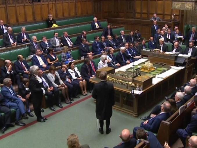 Blick in das britische Unterhaus: Ein schottisches Berufungsgericht hat die Zwangspause des britischen Parlaments für unrechtmäßig erklärt. /PA Wire