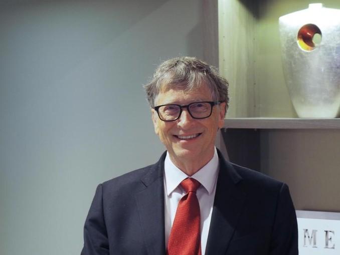 Der US-Milliardär Bill Gates in einem Hotel in Lyon am Rande der Geberkonferenz des Globalen Fonds zum Kampf gegen Aids, Tuberkulose und Malaria. /dpa