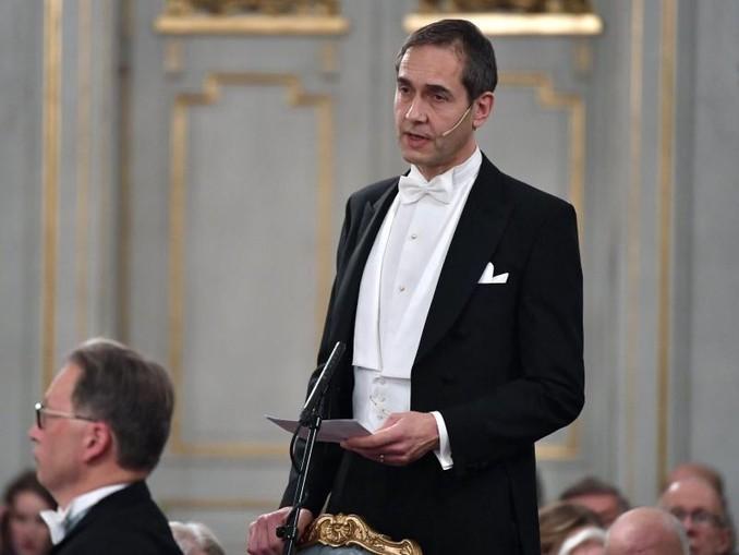 Mats Malm wird die Literaturnobelpreisträger verkünden. /TT NEWS AGENCY/AP/dpa