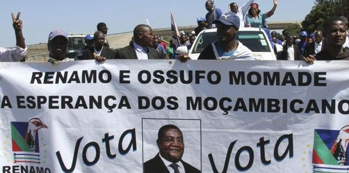 Mosambik wählt neuen Präsidenten