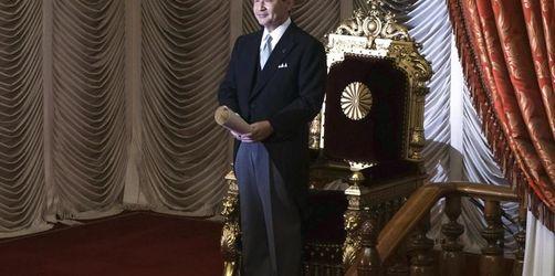 Japans Kaiser Naruhito verkündet Thronbesteigung