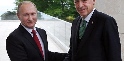 Putin und Erdogan beginnen Syrien-Verhandlungen in Sotschi